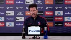 """Simeone: """"Veo a Joao muy bien, como a todo el equipo"""""""
