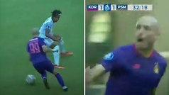 Es español, juega en Indonesia y no sería raro verle nominado al Puskas por este golazo