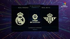 MX: LaLiga Santander (J32): Resumen del Real Madrid 0-0 Betis