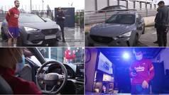 El Barcelona estrena nuevos coches
