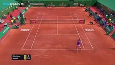 Rafa Nadal atropella a Dimitrov y no le falla a los cuartos de Montecarlo