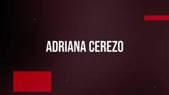 El test olímpico a... Adriana Cerezo