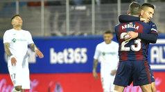 LaLiga (J24): Resumen y goles del Eibar 2-2 Getafe