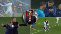 """No sé si Gil Manzano desesperó con motivo o sin motivo al Barça"""
