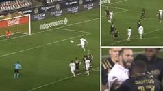 Tenían ganas a Higuaín: falla un penalti en su debut, le provocan y casi acaban a golpes