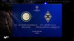 Champions League (J1): Resumen y goles del Inter  2-2 Borussia Mönchengladbach