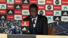 Vinícius Junior confirma en su presentación que se queda en el Real Madrid