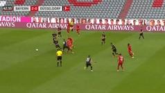 La obra de arte del Bayern ante el Fortuna que culminó Lewandowski