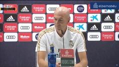 El lío de Zidane: le preguntan por el test de coronavirus de Jovic y desvela el de Vinicius