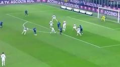 El golazo de Arturo Vidal a la Juventus.... y la no celebración