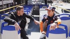 Márquez y Joaquín se conocen en Madrid