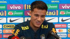 """Coutinho y el whatsapp del Barça: """"Hemos felicitado a Messi pero no está Neymar"""""""