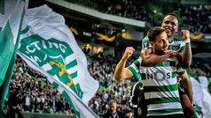 Europa League (1/16, ida): Resumen y goles del Sporting 3-1 Basaksehir