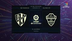 MX: LaLiga Santander (J30): Resumen y goles del Huesca 3-1 Elche