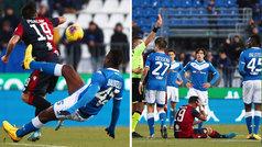 Balotelli la vuelve a liar: expulsado a los ocho minutos de salir al campo
