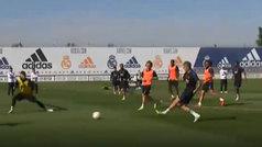 El Real Madrid continúa preparando su visita a Ucrania