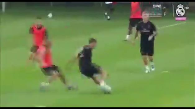 ¡Ya asusta a los rivales! Los 30 segundos de regates de Hazard con el Real Madrid