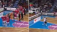 Así fue el debut de Sergio Llull en la ACB: así fueron sus 'curiosos' dos primeros puntos