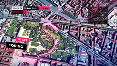 Así será la 'Grande Partenza' del Giro 2021