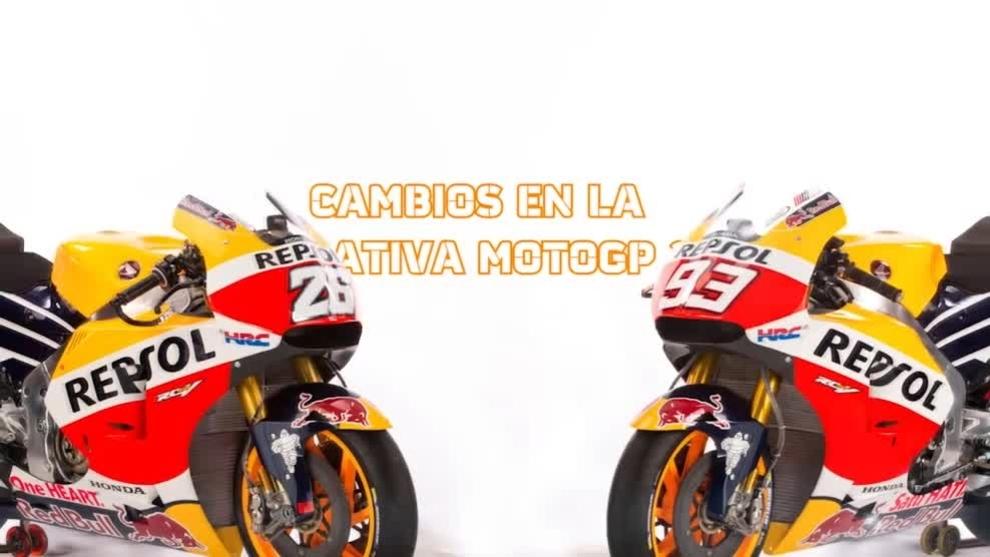 Los cambios de MotoGP 2016