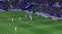 Gol de Coke (1-0) en el Levante 2-0 Valladolid
