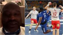 Shaquille O'Neal se rinde a Gauthier Mvumbi, el pívot congoleño de balonmano que se ha hecho viral.