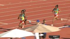 El minuto final del 5.000 femenino en el Mundial sub20 de Sampere