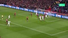 Gol de Kimpembe (0-1) en el Manchester United 0-2 PSG