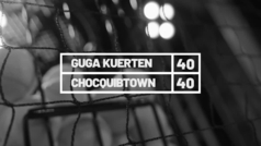 El ex tenista brasileño Gustavo Kuerten, 'Guga', habla con el grupo colombiano ChoQuibTown