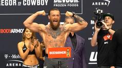 """Un nuevo McGregor presume de forma física: """"¿Me sientan bien los 77 kilos o qué?"""""""