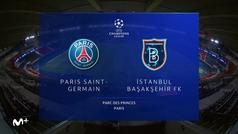 Champions League (Grupo H): Resumen y goles del PSG 5-1 Basaksehir