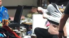 El viral del año: ¿eres capaz de controlar la risa con este polaco borracho intentando vestirse?