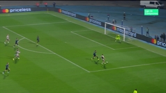 Gol de Patrick (0-1) en el Dinamo Zagreb 3-3 Shakhtar