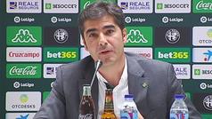 Ángel Haro, sobre la dimisión de Serra Ferrer: ?Me sorprende que hablen de problemas de ego, no es adecuado?