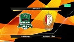 Europa League (J4): Resumen y goles del Krasnodar 2-1 Standard