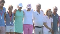 Jugadoras del Circuito Europeo de golf guardan minuto silencio en memoria de Celia Barquín