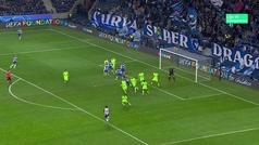 Gol de Militao (1-0) en el Oporto 3-1 Schalke