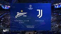 Champions League (Jornada 3): Resumen y goles del Zenit 0-1 Juventus