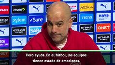 """Guardiola: """"Los grandes equipos pueden perder un partido... ¿pero dos?"""""""