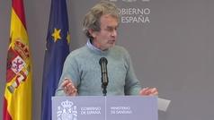 """Fernando Simón: """": """"El confinamiento está ahí... Si es necesario se tendrá que hacer"""""""