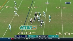 Milagro en la NFL: 7 segundos para el final y los Dolphins deciden 'jugar al rugby'