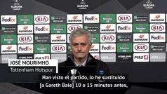 """Mourinho: """"Hay pequeñas cosas que Bale debe mejorar"""""""
