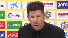 """Simeone: """"La Liga está bárbara, todos los equipos compiten"""""""