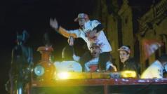 Los momentos más 'locos' en la rúa de Marc Márquez