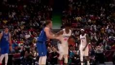Trifulca con golpe en el cuello a Luka Doncic en la NBA