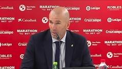 """Zidane: """"Hemos jugado 90 minutos con personalidad"""""""
