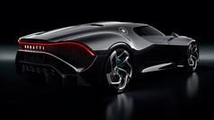 Bugatti La Voiture Noire, un carísimo capricho