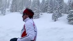 Fernando Alonso sigue su puesta a punto... corriendo a 2.600 metros sobre el nivel del mar