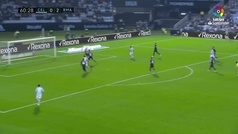 Gol de Hugo Mallo (1-2) en el Celta 2-4 Real Madrid