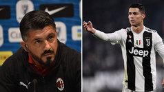 """Gattuso: """"Cristiano ha dejado de hacer shows y ahora es la máquina perfecta"""""""